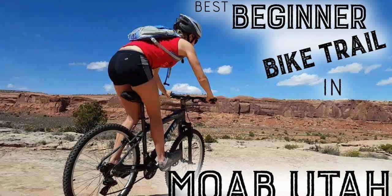 Beginner Mountain Biking in Moab