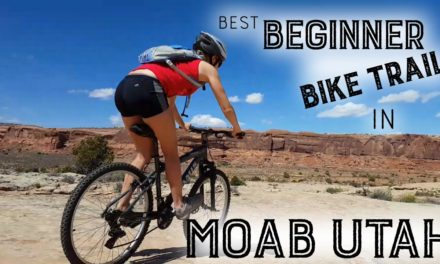 Beginner Mountain Biking in Moab