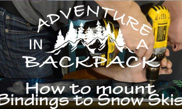 How to Mount Bindings on Skis